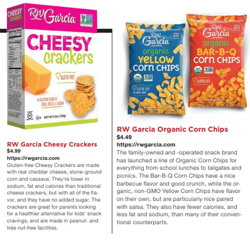 RW Garcia lands Editor's Choice in the 2019 Progressive Grocer Guide