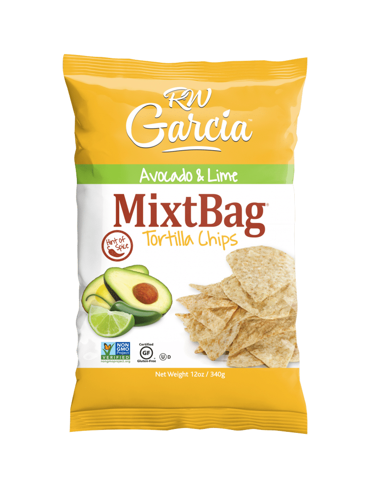 Introducing Avocado & Lime MixtBag Tortilla Chips