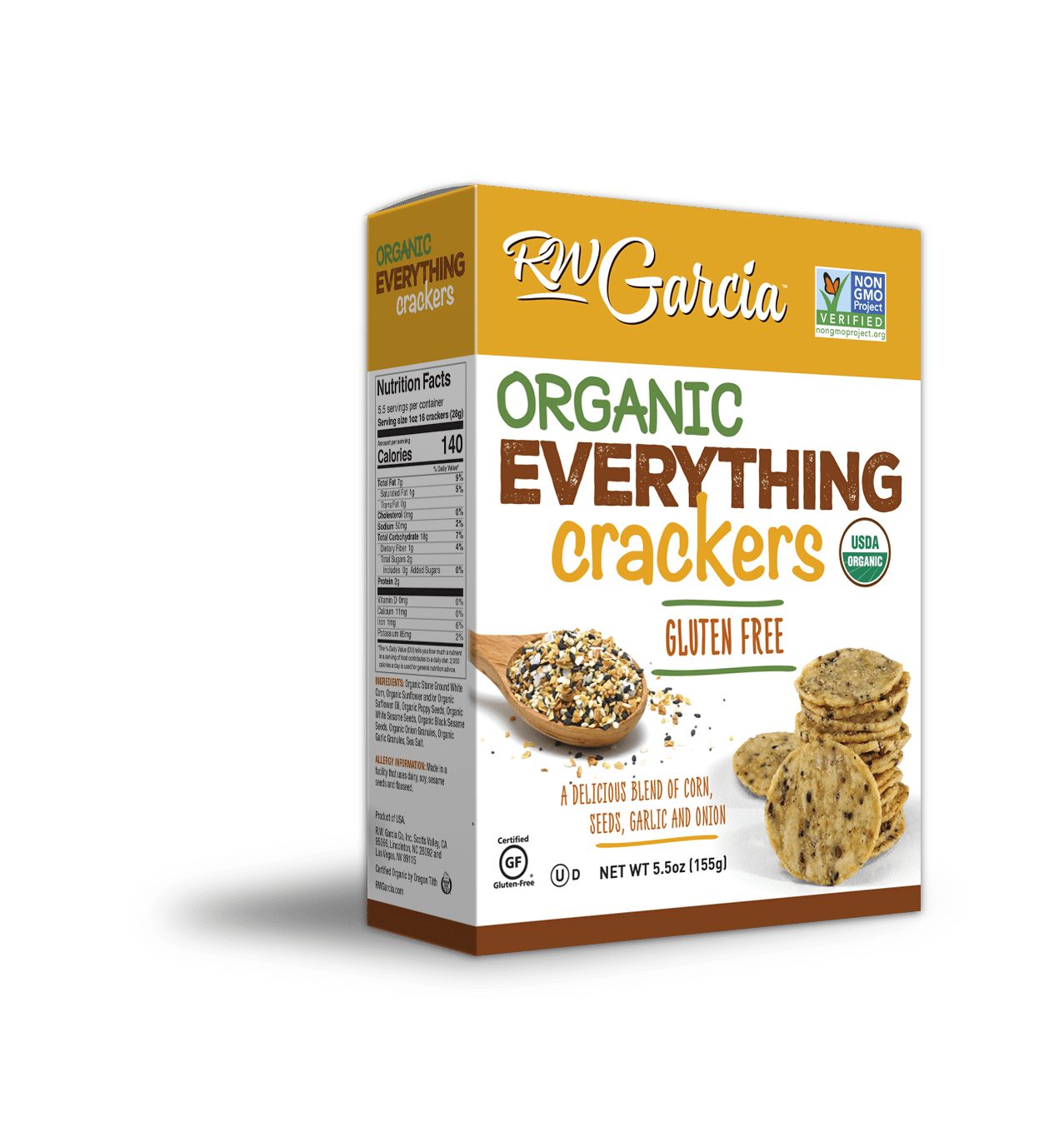organic everything crackers 3d